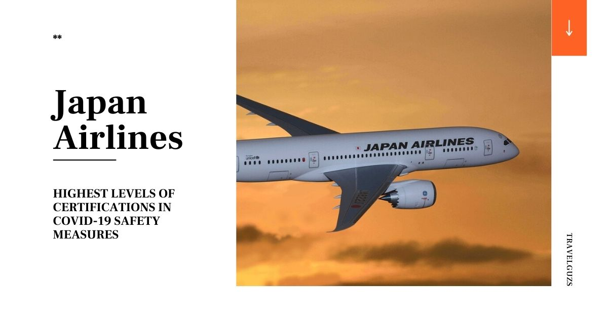 Japan Airlines highest ratings