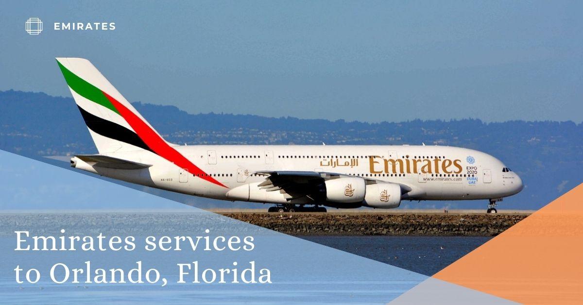 Emirates services to Orlando